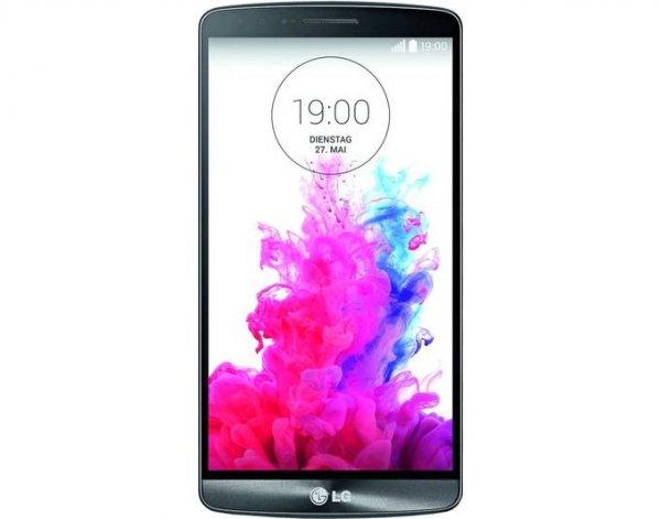"LG G3, 4G, 16 GB, 5.5"" 2560 x 1440 Pixel IPS, 13 Mpix, Titan, Neuware, Versandkostenfrei"