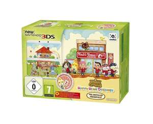 NINTENDO New Nintendo 3DS + Animal Crossing: Happy Home Designer Pack für 144 € @ Saturn Latenight Shopping