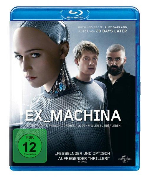 [Amazon Prime] Ex Machina [Blu-ray]