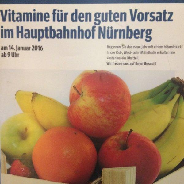 [Nürnberg] Obst im Hbf (14.1.)