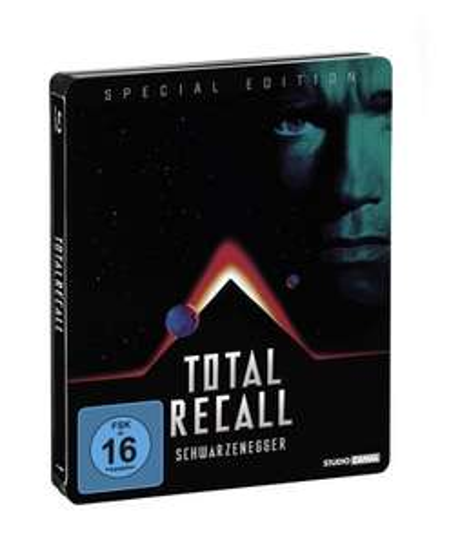 Total Recall - Totale Erinnerung (Jubiläums Edition/Steelbook) [Blu-ray] [Special Edition] für 7,90 € > amazon.de >