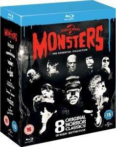 Universal Classic Monsters: The Essential Collection Blu-ray (@zavvi.com)