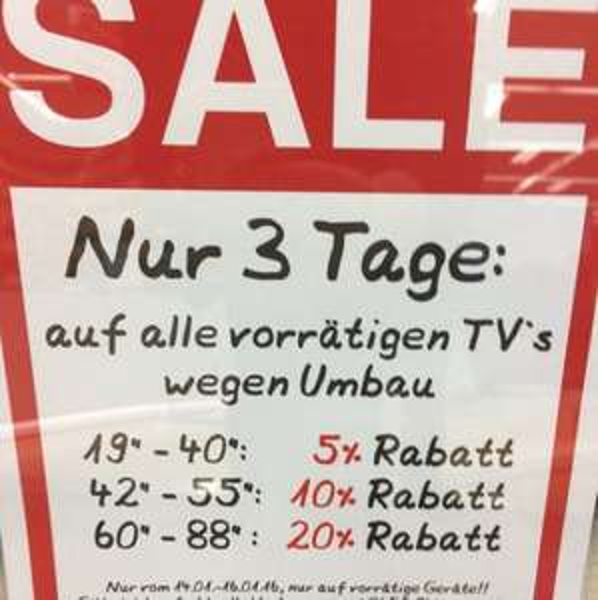 Große Sale Aktion Saturn Dortmund City