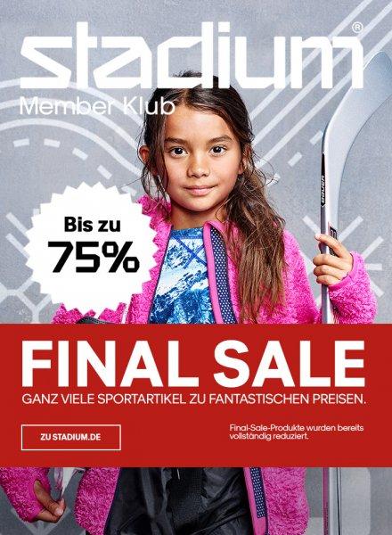 Stadium Sale (online und offline) bis zu 75%