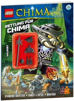 """Lego Ninjago Stickerbücher """"Die Rückkehr"""" oder """"Der Aufstieg"""" für je 0,99€ bzw. LEGO Chima """"Attacke der Eis-Jäger"""" oder """"Rettung für Chima"""" jeweils + Minifigur für 2,99€ @terrashop"""