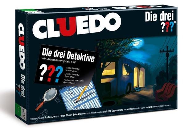 Cluedo - Die drei ??? für 15,44€bei Buch.de