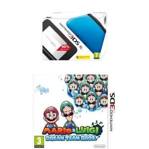 Nintendo 3DS XL + Mario and Luigi: Dream Team Bros. für 110,31€ bei Amazon.co.uk