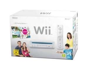 "NINTENDO Wii ""Family Edition"" - Konsole inklusive Wii Sports + Wii Party in weiß für 129,90 @meinpaket"