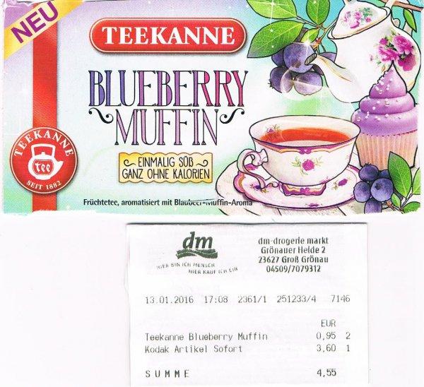 [lokal] Teekanne Blueberry Muffin