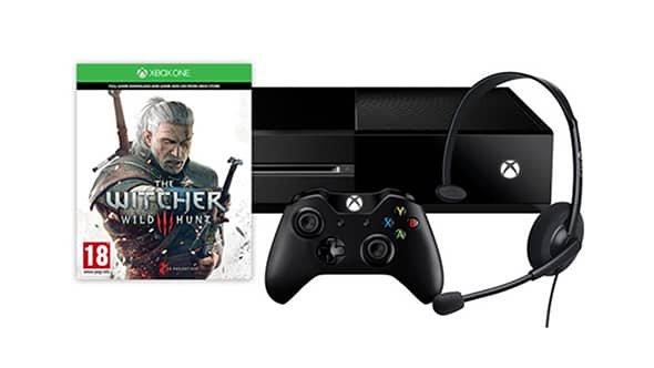 """[Microsoft Store Fr] Xbox One + The Witcher 3: Wild Hunt für 299€ *** Xbox One Controller """"Forza Motorsport 6"""" für 52€"""