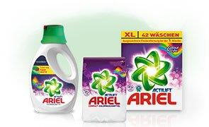 Ariel Vollwaschmittel für 2,33€ bei Budni