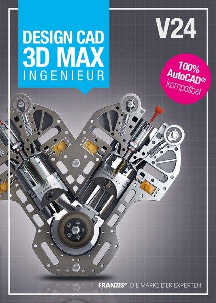 DesignCAD 3D V24 MAX Ingenieur