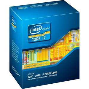 Intel Core i7-4770K, 4x 3.50GHz, Turbo 3.90GHz, Hyper-Threading, freier Multiplikator, Sockel 1150, boxed  - 293,95€ @ ZackZack.de