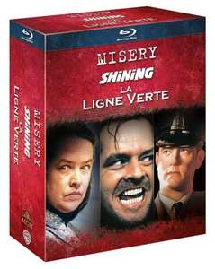 Stephen King : Misery + Shining + Green Mile (Blu-ray) für 11,81€ bei Amazon.fr