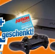 "PS4 Konsole mit 2x Dualshock 4 u. Jahreslos ""Aktion Mensch"" @Expert HEM"