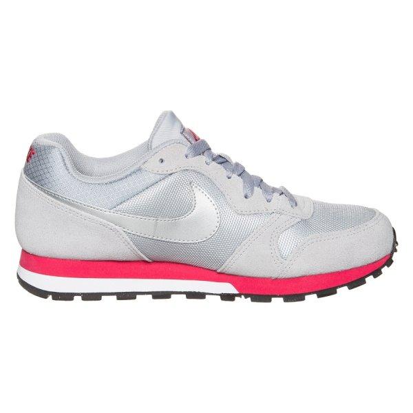 [innova24] Nike 749869-006 Nike MD Runner 2 Damenschuh Grau/Rot, Größe 38-42
