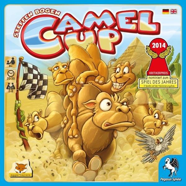 [Spiel des Jahres] Camel up + Erweiterung für 20,14 Euro