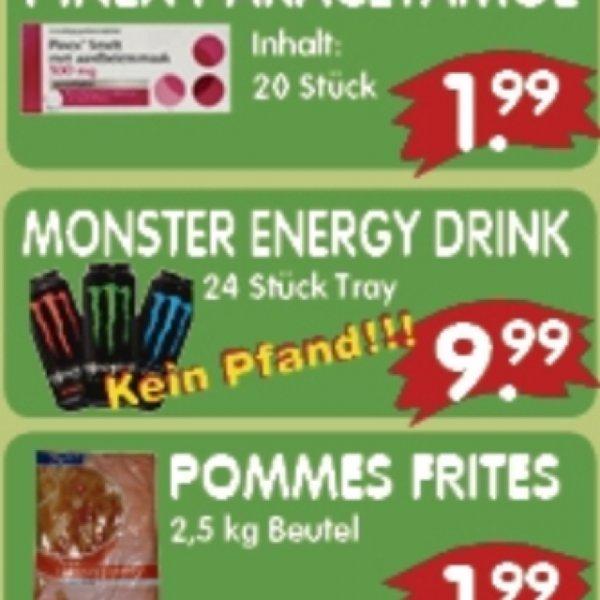[Lokal Siebengewald] für Grenzgänger Niederlande 24 x Monster Energy für 9,99€ (42Cent/Dose)