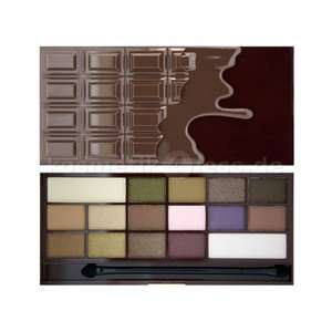 Make Up Revolution - exaktes Dupe zur Too faced - Chocolate Bar Palette @kosmetik4less.de