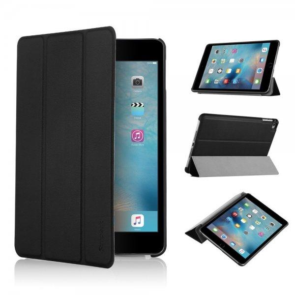 [Amazon.de/Plus Produkt] Simpeak iPad Mini 4 Case PU Leder mit Sleep/Wake schwarz für 1,98€