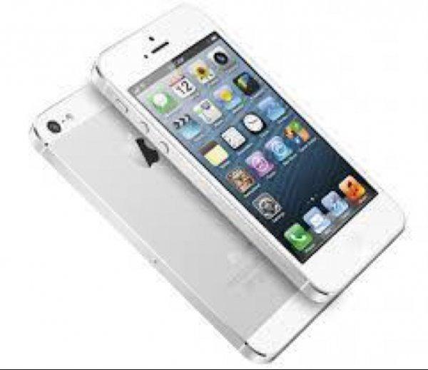 Apple iPhone 5s 16 GB silber - Deutsche Neuware - ohne Simlock