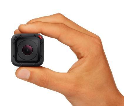 GoPro Hero 4 Session Action Cam + Sandisk microSDXC Extreme 64GB (UHS-I, 60MB/s, Class 3) + Tiffen Steadicam Curve Schwebestativ für 242€ bei Media Markt