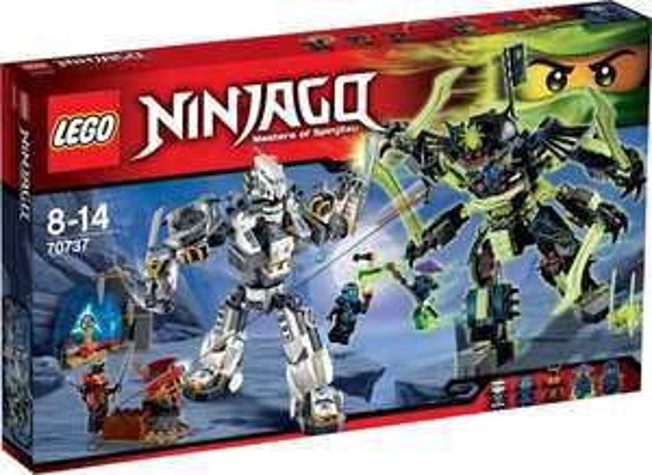 (Thalia) Lego Ninjago - Titanroboter gegen Mech-enstein für 40,31 € inkl. Versand (PVG  47,99 € ebenfalls Thalia.de)