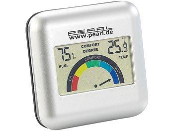 PEARL Digitales Hygrometer mit Thermometer nur Versandkosten 4,90