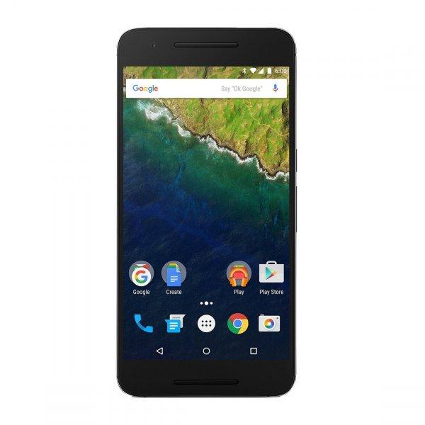 """Huawei Nexus 6P 32GB - 5,7"""" WQHD, Snapdragon™ 810, 3GB Ram, 12,3MP Kamera mit 4K-Videoaufzeichnung, NFC, LTE, Android 6 für 518,24€ bei Amazon.es"""