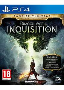 "Dragon age Inquisition ""game of the year"" ps4 /Xbox one @base.com ~ 26,50€"