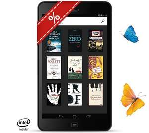 """94,90€ - Tolino Tab 8"""", Tablet + eBook Reader, 8'' Multitouch, 1920x1200 Pixel, Atom Z3735 (1,83 GHz), WLAN, Android 4.4, 2 GB RAM, 16 GB"""