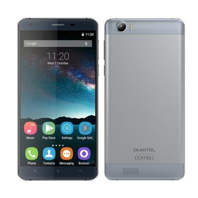 "OUKITEL K6000 LTE - 2,5D Display - 6000mAh Schnellladeakku - Quadcore 5.5"" HD 16GB - 2GB Ram"