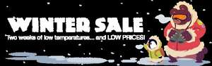 Humble Store Winter Sale verschiedene Games