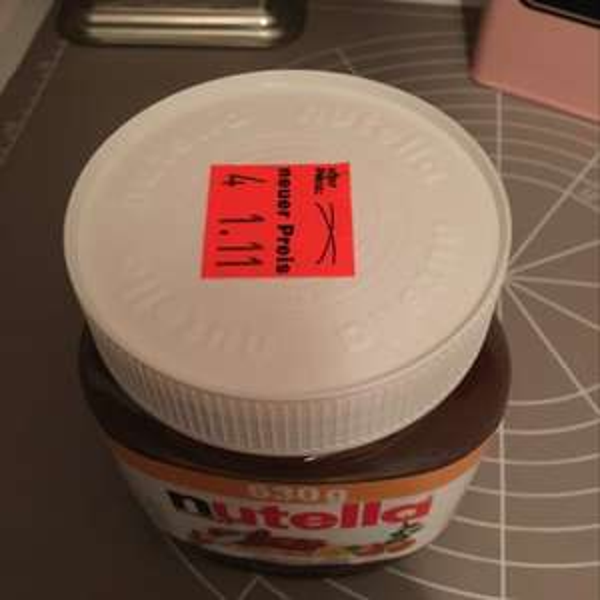 Nutella 630 g Lokal Karlsruhe
