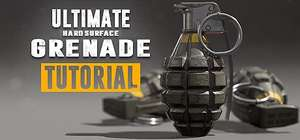 [STEAM] Ultimate Grenade Tutorial - Hardsurface 3D Course  free