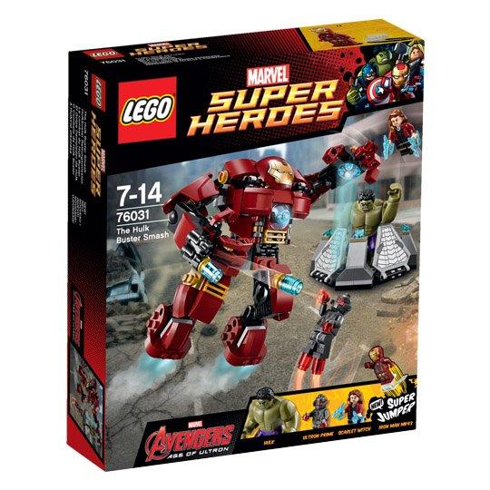 LEGO 76031 Hulkbuster aus der Marvel Super Heroes Avengers Serie