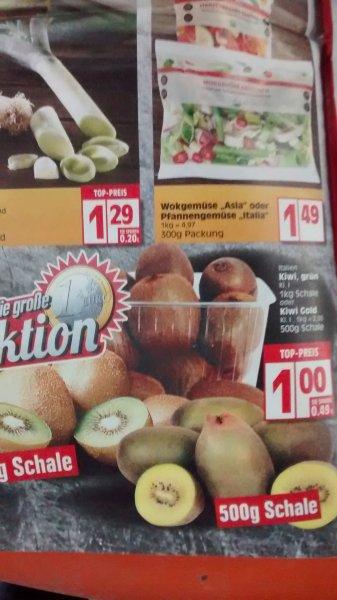 1Kg Kiwis für 1€ bzw. 90 Cent @ Edeka und E-Center[+10% Rabatt E-Center]