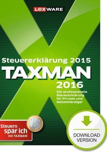 [edv-buchversand.de] Lexware Taxman 2016 (für Steuerjahr 2015) als Downloadversion für 17,95€ (Idealo ~25€)