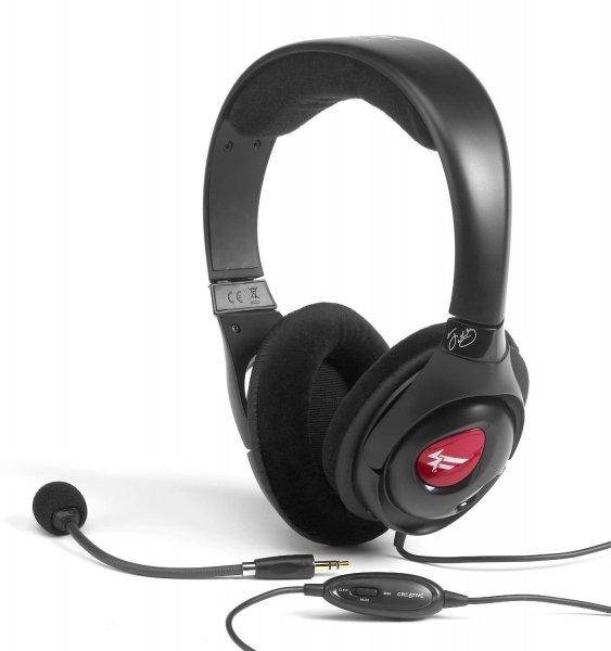 Creative Fatal1ty Pro Series HS-800 Gaming Headset schwarz
