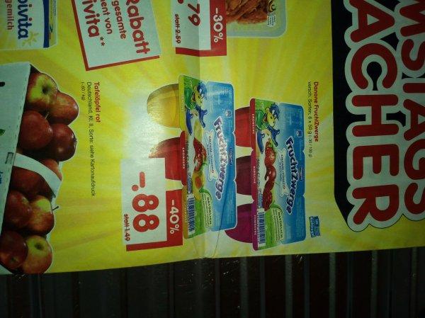 x09x09 [Lokal Duisburg]Netto Danone Fruchtzwerge 6x50g für 0,88€ am Samstag den 23.01.16