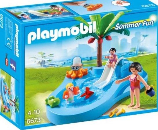 (Amazon Plus) PLAYMOBIL 6673 - Babybecken mit Rutsche