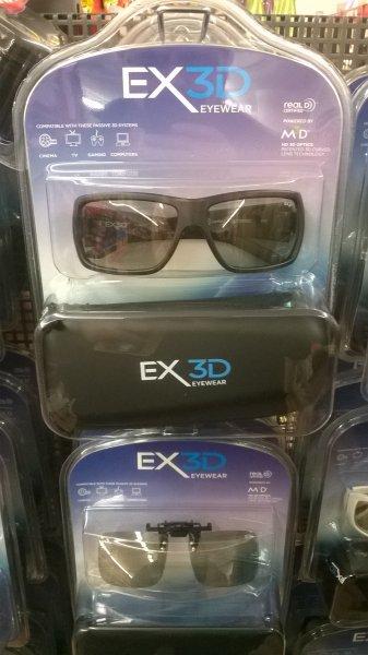 LOKAL Darmstadt Euroshop - 3DEX Passiv Polarisationsbrille für 1 €