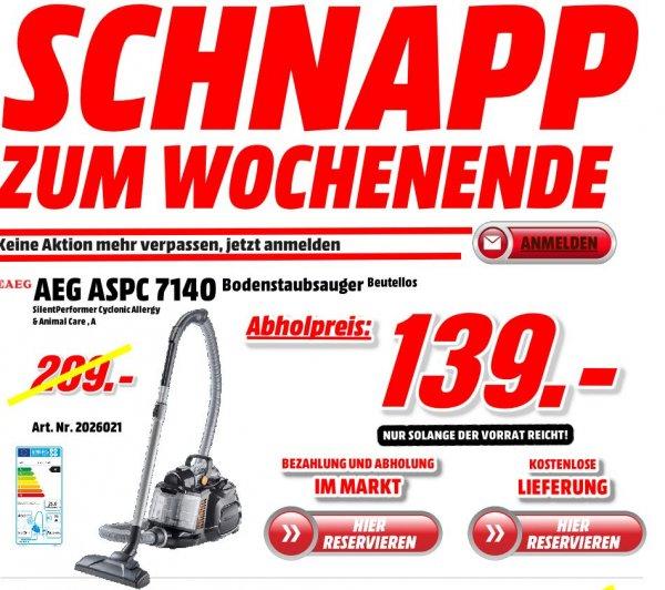 AEG Bodenstaubsauger AEG ASPC 7140 Beutelos + Versandkostenfrei in DE - Knallerpreis