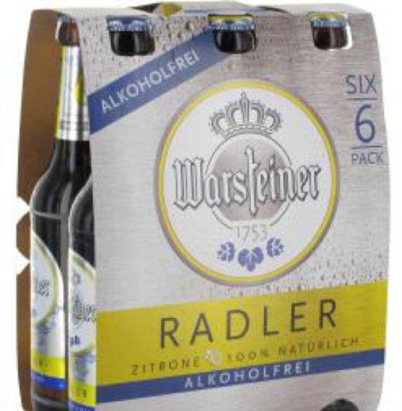 (Lokal Hürth) Warsteiner Radler Alkoholfrei und Isotonisch Alkoholfrei (kurzes MHD)