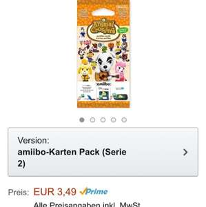 [Amazon] Amiibo Animal Crossing