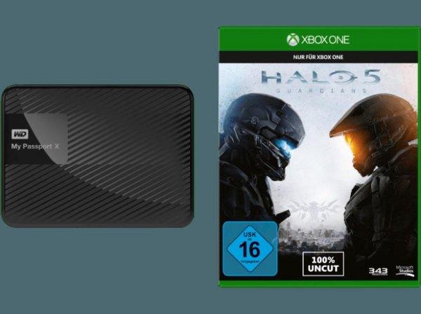 [Mediamarkt/Ebay] WD WDBCRM0020BBK-EESN My Passport X 2TB Festplatte + Halo 5 - Guardians für 111,-€ Versandkostenfrei