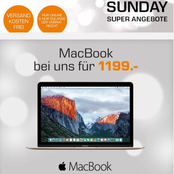 Saturn Online ohne VSK. neues Macbook für 1199€