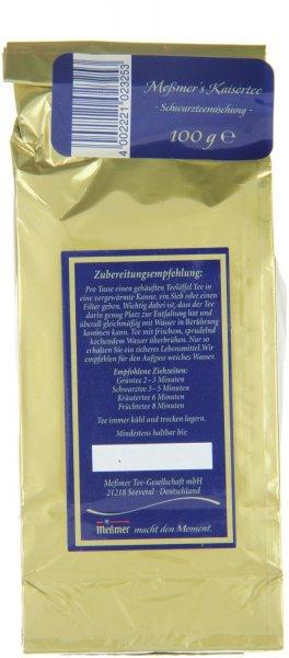 Amazon Prime : Messmer Momentum Tee Kaisertee - Schwarzteemischung, 2er Pack (2 x 100 g) - Nur 7,83 € € statt 18 €