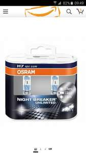Osram H7 NIGHTBREAKER  (Amazon.de)