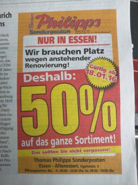 Thomas Philipps in Essen - 50% auf Alles